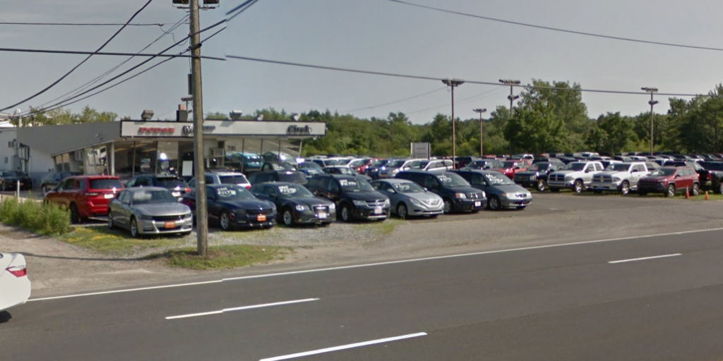 The former Circle Dodge dealership in Brick, N.J. (Credit: Google Maps)