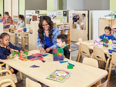 A preschool classroom. (Credit: Hawkeye Community College)