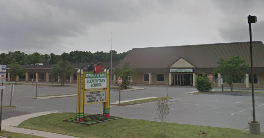 Warren Wolf Elementary School, Brick, N.J. (Credit: Google Maps)