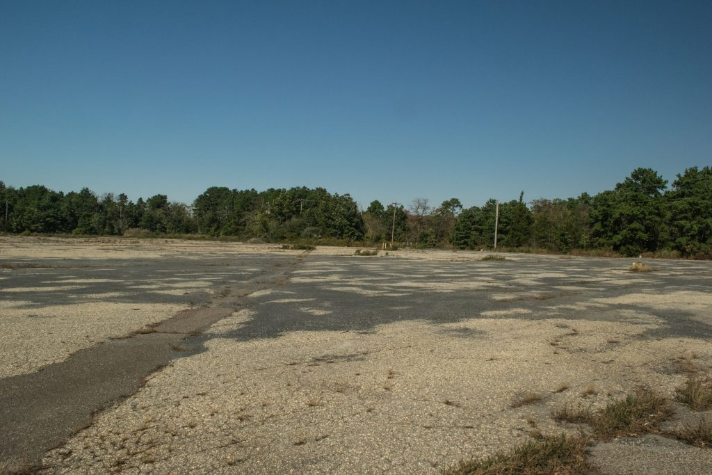 The former Brick Foodtown site on Route 70, Oct. 2018. (Photo: Daniel Nee)