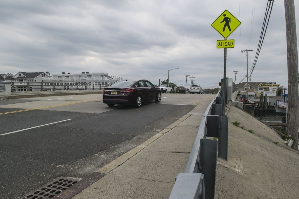 The Broadway (Richard E. Lane) Bridge in Point Pleasant Beach, Oct. 1, 2018. (Photo: Daniel Nee)
