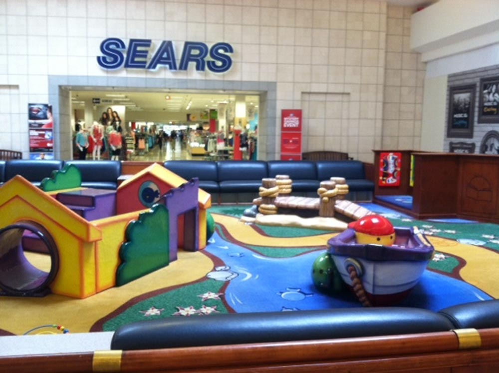 The former Sears store at the Ocean County Mall. (Credit: Simon Properties)