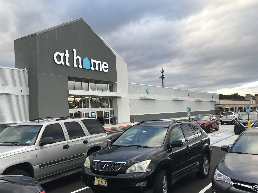 The At Home store in Brick Township, N.J., Nov. 20, 2018. (Photo: Daniel Nee)