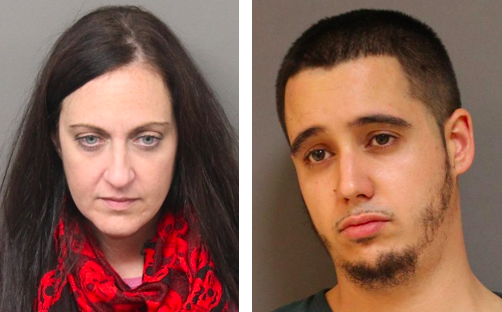 Mary C. Mazzi, 38, of Freeport Boulevard, Berkeley, and H. J. Zaker Sindel, 26, of Nancy Drive, Brick. (Photos: OCPO)