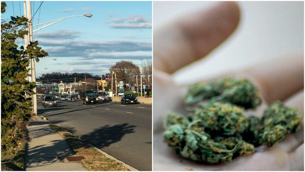 Marijuana in Brick. (Photos: Daniel Nee (left) / Katheirne Hitt/Flickr)