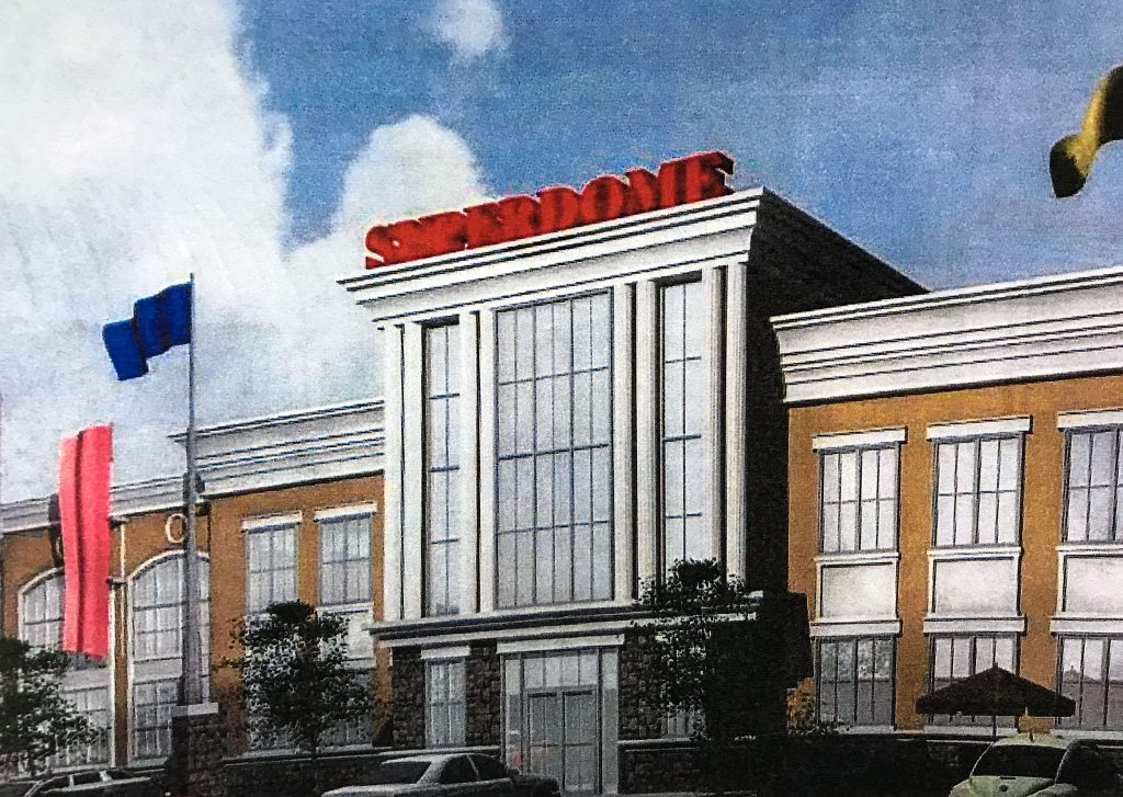 A rendering of the proposed 'Superdome' in Brick Township. (Photo: Daniel Nee)