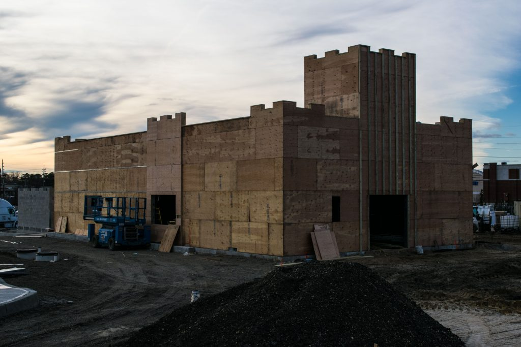 A White Castle restaurant under construction in Brick, N.J., Jan. 2019. (Photo: Daniel Nee)