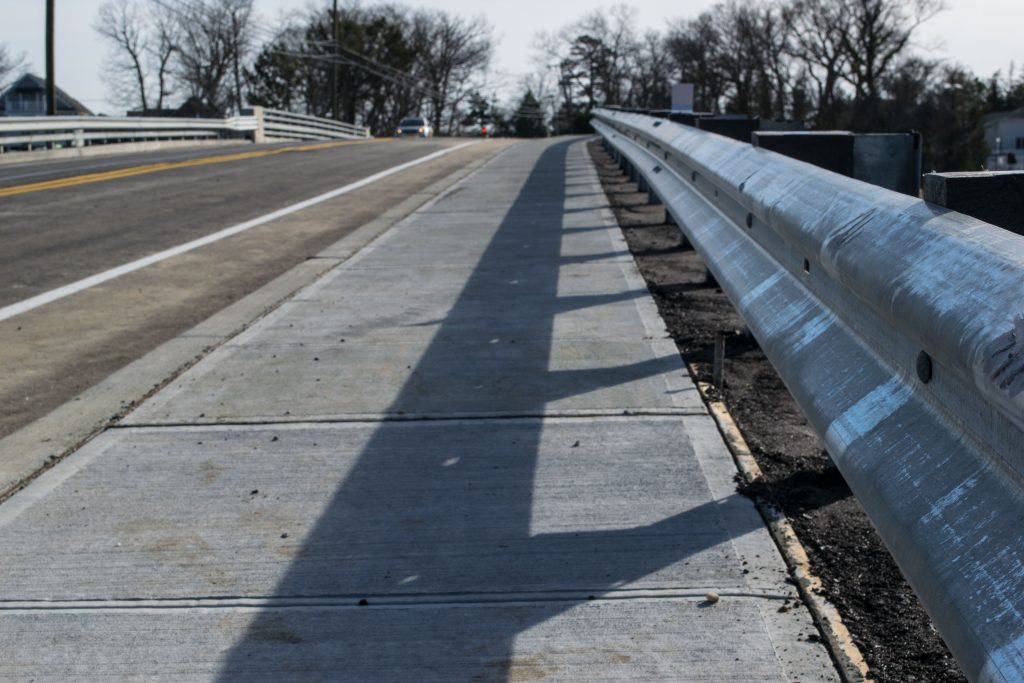The Midstreams Bridge in Brick Township reopens to traffic, Feb. 19, 2019. (Photo: Daniel Nee)