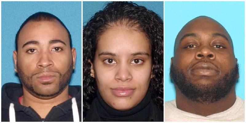 Henry Martin, Janice Rivera and Darian Buddoo. (Photos: OCPO)