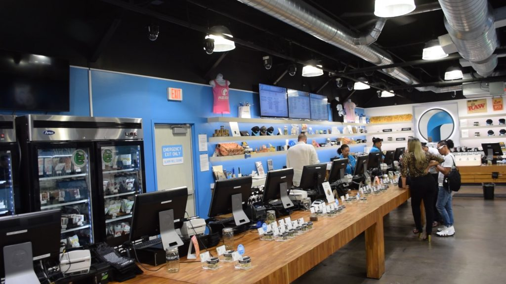 Reef Dispensary, Las Vegas, NV. (Photo: Daniel Nee)