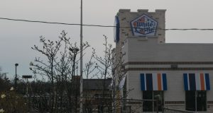 White Castle under construction in Brick Township, March 2019. (Photo: Daniel Nee)