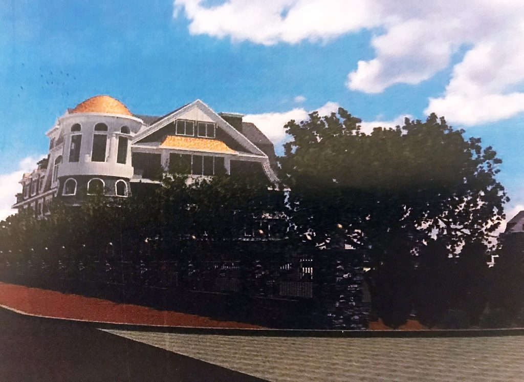 Renderings of a proposed restaurant and event venue on Mantoloking Road in Brick. (Photo: Daniel Nee)