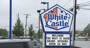 White Castle's opening day in Brick Township, May 13, 2019. (Photo: Daniel Nee)