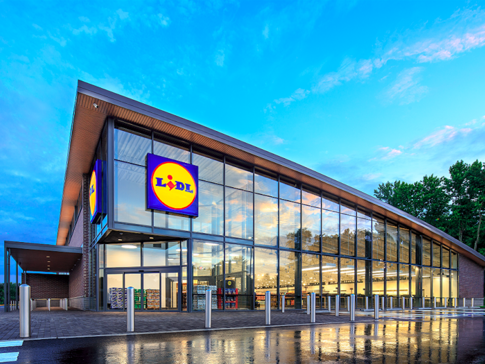 A Lidl store in Virginia. (Photo: Lidl)