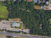An aerial view of the trail where an alleged assault took place June 19, 2019. (Credit: Google Maps)