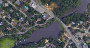 Godfrey Lake, along Herbertsville Road in Brick, N.J. (Credit: Google Maps)
