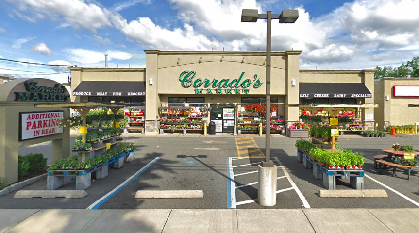 Photos from the six Corrado's Market locations across New Jersey. (Credit: Google Earth)