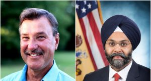 Brick Councilman Jim Fozman (R) and Attorney General Gurbir Grewal (D) (Photos: File)