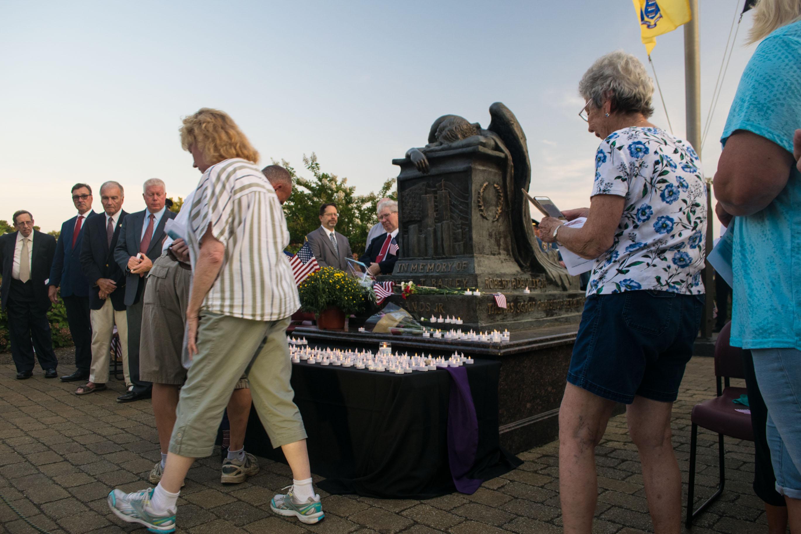 Brick Township's 2019 remembrance ceremony for the 9/11 attacks. (Photo: Daniel Nee)