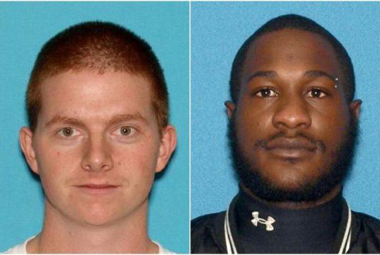 Mark Richard Austin (left) and Jeray Melton. (Photo: OCPO)