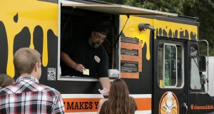 Food trucks at a previous Brick Township Fall Fest. (Photo: Brick Twp.)