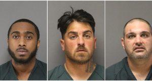 Crippen, Foley and Lobue (Photos: Ocean County Jail)