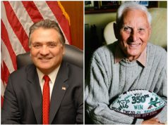 Freeholder Joe Vicari and former Freeholder Warren Wolf. (File Photos)