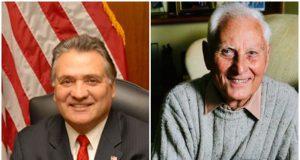 Freeholder Joe Vicari and former Freeholder Warren Wolf. (File Photos)
