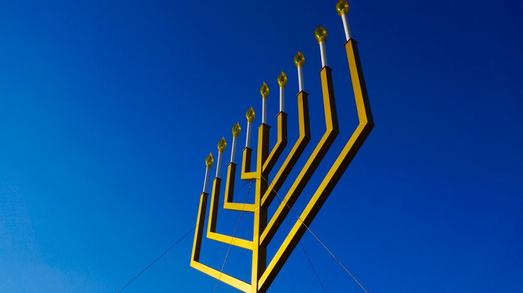 The National Menorah in Washington, D.C. (Photo: Ted Eytan/Flickr)