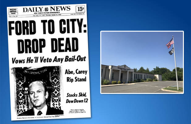 The famed Oct. 30 headline of the New York Daily News. Is it being repeated in Brick? (File Photos)