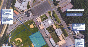 Proposed improvements at Brick Township High School in a potential 2020 referendum measure. (Credit: Brick BOE)