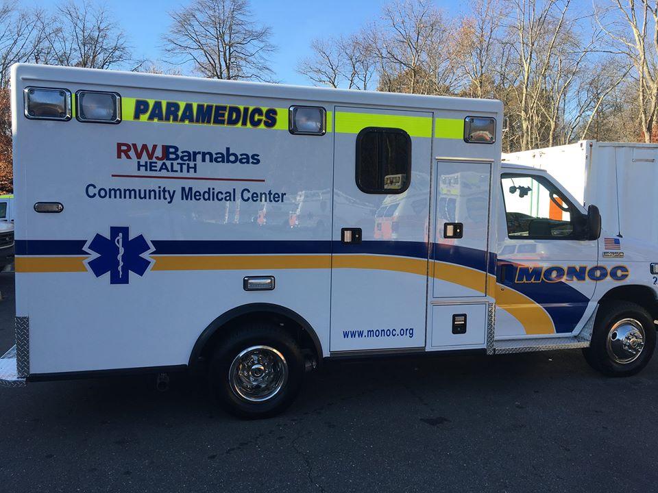 A MONOC ambulance. (Photo: MONOC/Facebook)