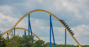 Nitro, a thrill ride at Six Flags Great Adventure. (Photo: Six Flags)