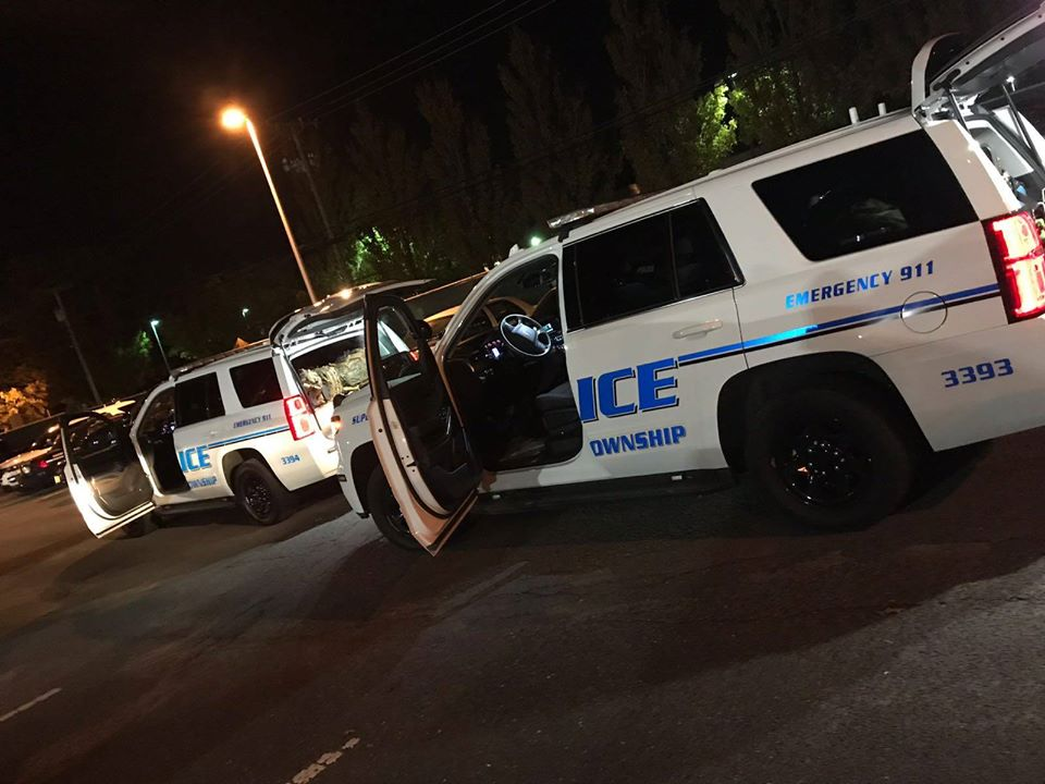 Lakewood, N.J. police vehicles. (Photo: Lakewood Police Department/Facebook)
