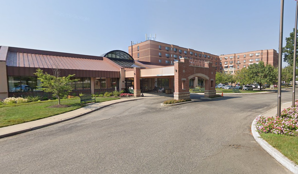 Leisure Park, a skilled nursing and assisted living facility in Lakewood, N.J. (Credit: Google Maps)