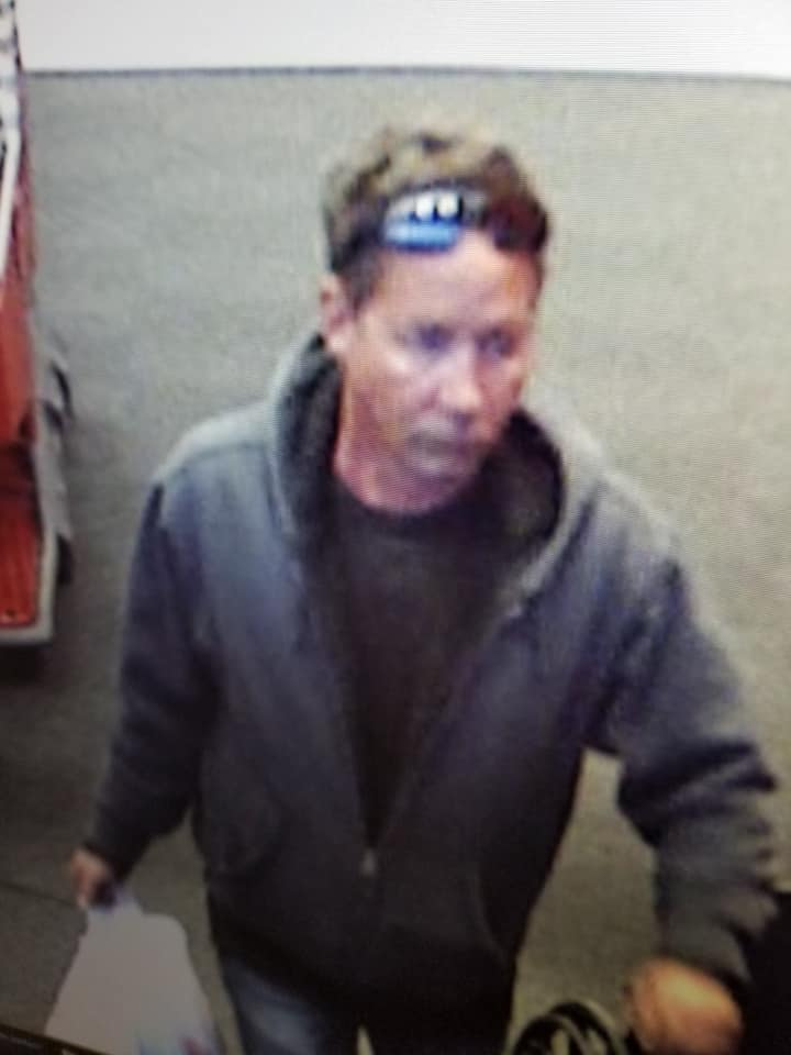 The suspect in a bias incident at Brick's Target store. (Photo: Brick Twp. Police)