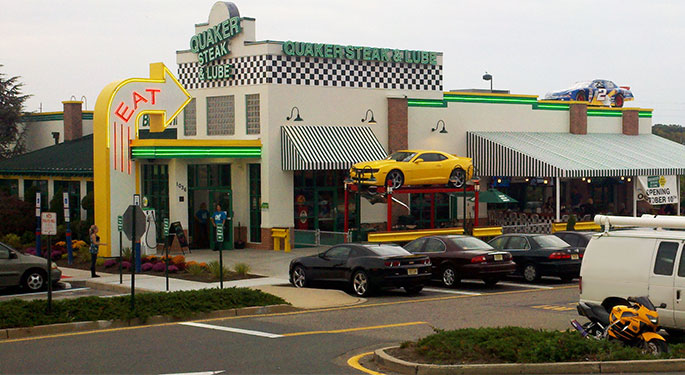 Quaker Steak and Lube, Brick, N.J. (Photo: QSL Corporate)