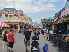 The Point Pleasant Beach boardwalk, Point Pleasant Beach, N.J. (Photo: Daniel Nee)
