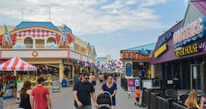 The Point Pleasant Beach boardwalk, Point Pleasant Beach, N.J. (Photo: Daniel Nee)