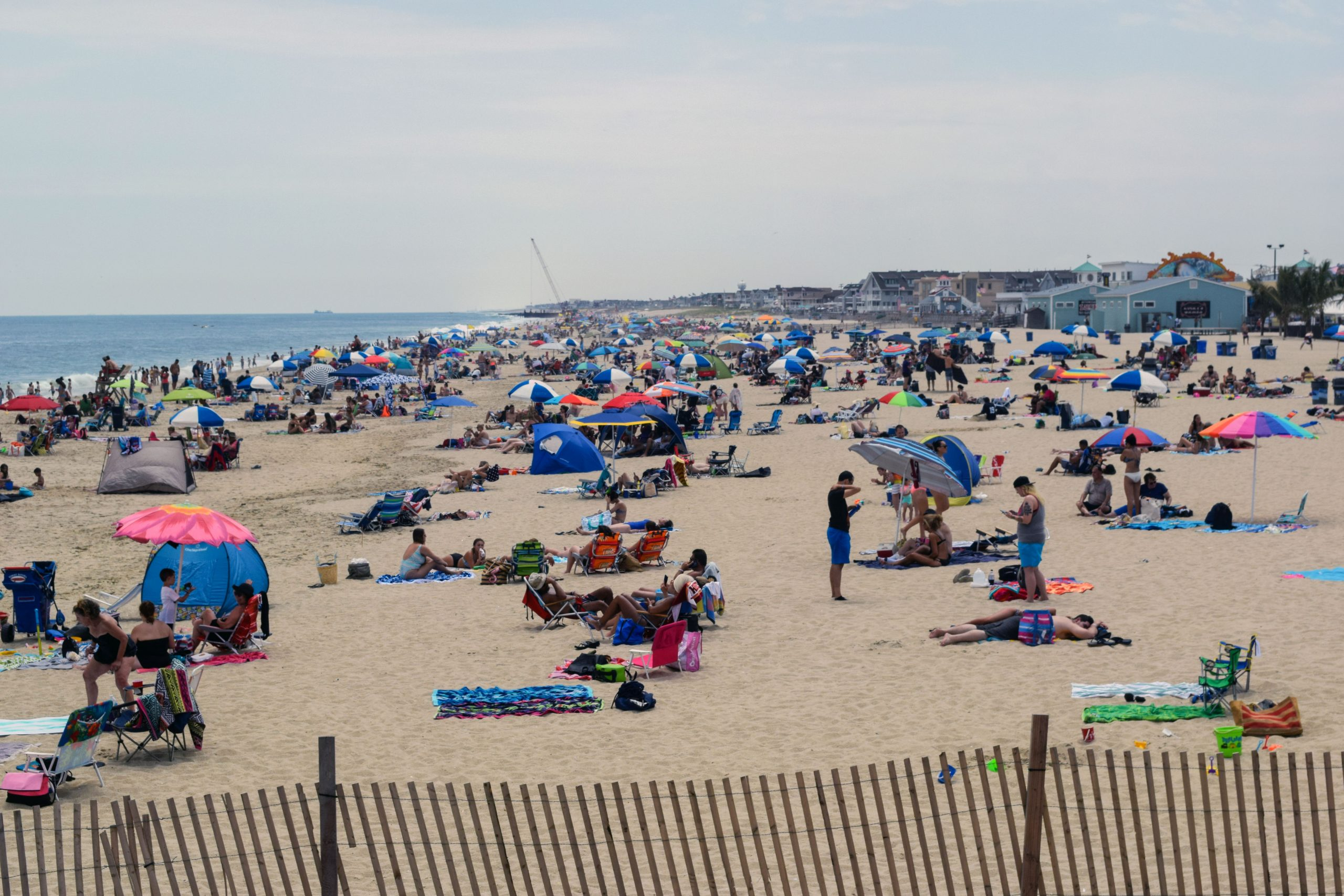 The Point Pleasant Beach oceanfront, Point Pleasant Beach, N.J. (Photo: Daniel Nee)
