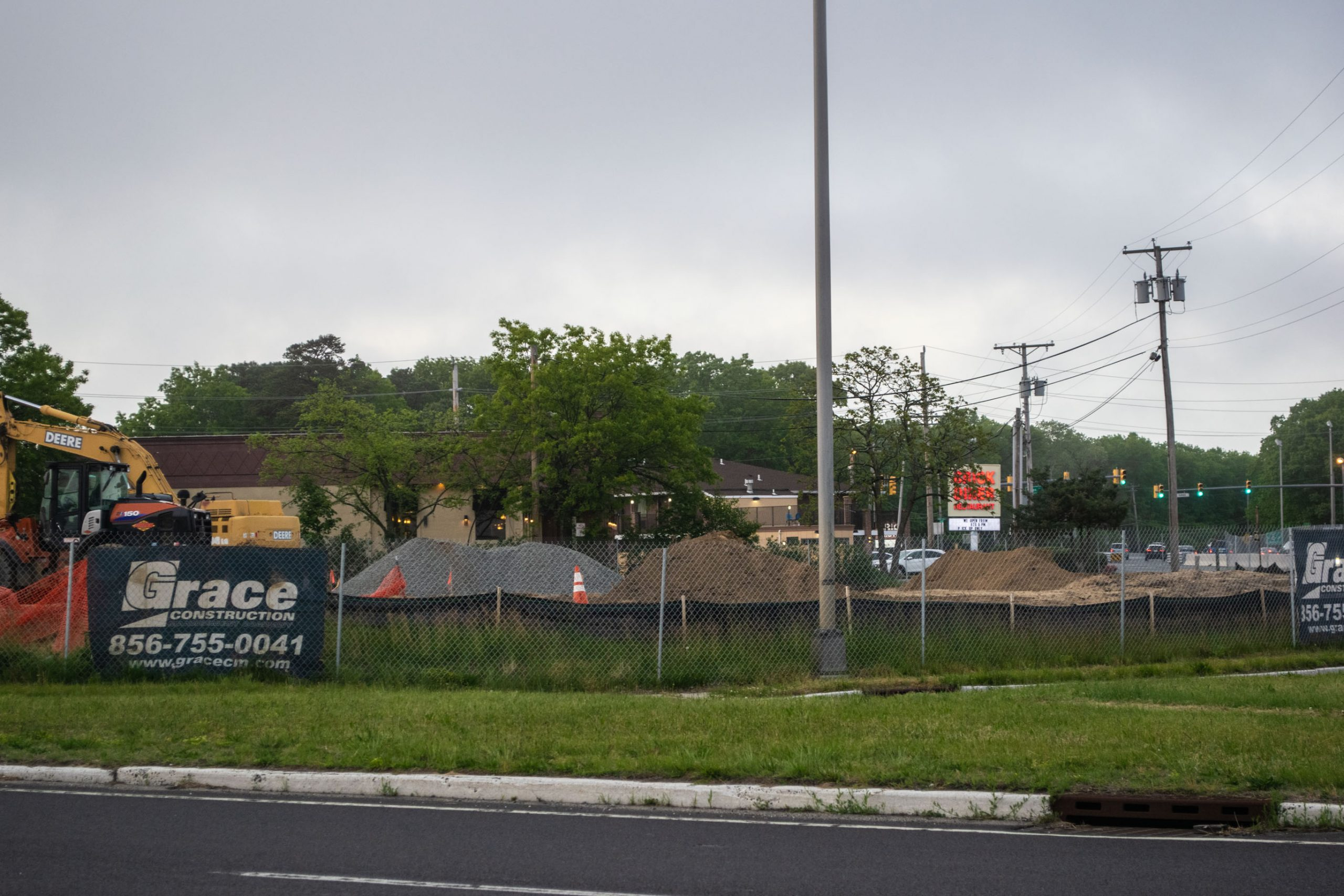 The site of the former Jersey Paddler store in Brick, May 2020. (Photo: Daniel Nee)