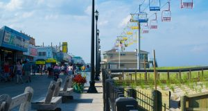 The northern portion of the Seaside Heights boardwalk, July 2019. (Photo: Daniel Nee)