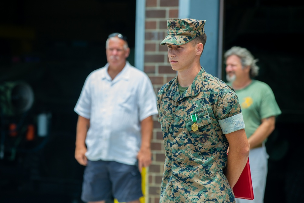 Cpl. Matthew T. Ubl (Credit: 1st. Lt. Dan Linfante)