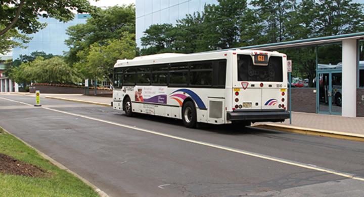 An NJ Transit bus. (Credit: NJ.gov)