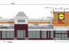 Plans for the upcoming Lidl store in Brick Township, as presented to the township planning board, June 24, 2020.