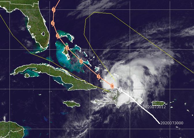 Hurricane Isaias (Credit: CIMSS)