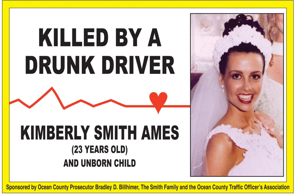A billboard featuring a photo of Kimberly Smith Ames. (Photo: OCPO)
