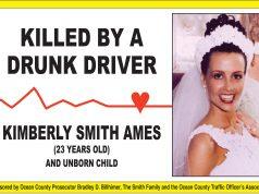 A billboard featuring a photo of Kimberly Smith Ames. (Photo: OCPO)