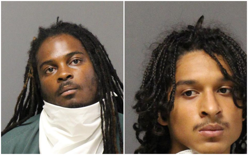 Romario Sharrier and Oscar Euceda (Photos: Ocean County Jail)