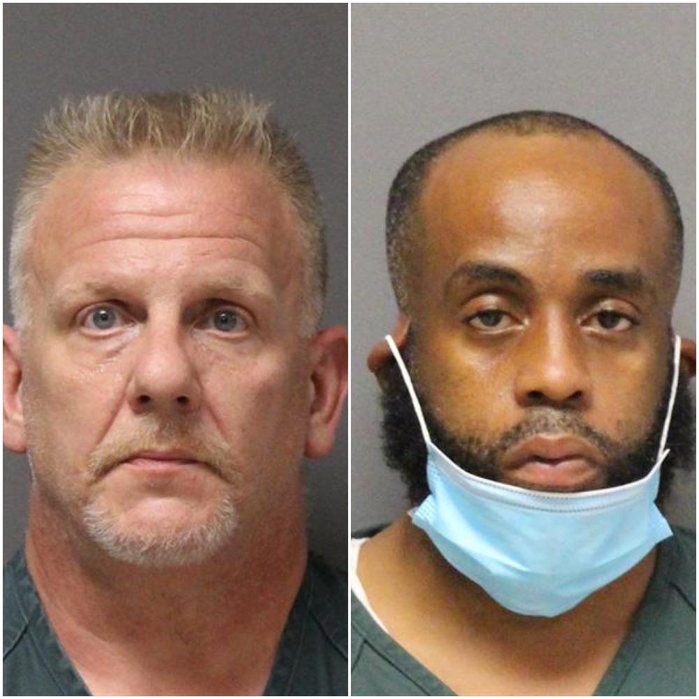 Michael Laux and Michael Alston (Photos: Ocean County Jail)
